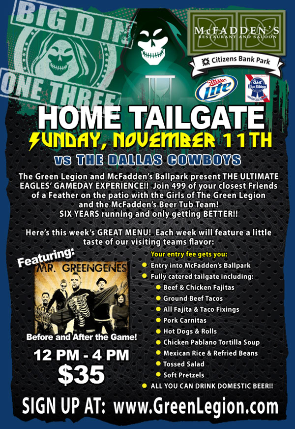 Dallas Tailgate 11.11.12